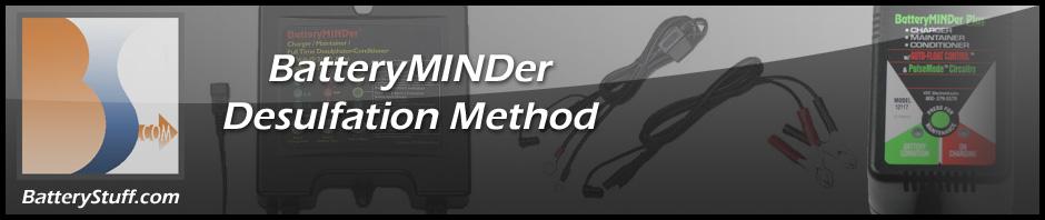BatteryMINDer Desulfation method